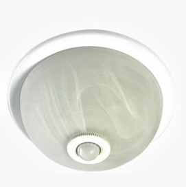 Ceiling Mount PIR Motion Sensor With Light, HC-25A